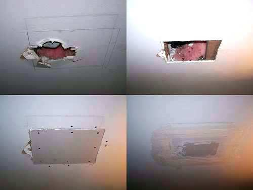 How To Repair A Drywall Ceiling After Water Damage